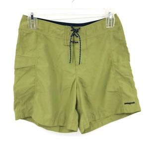 Patagonia Green Athletic Active Shorts Size 11